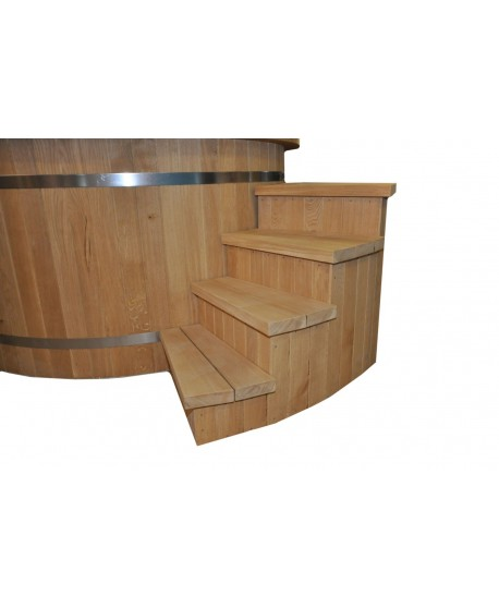 laiptai prie kubilo