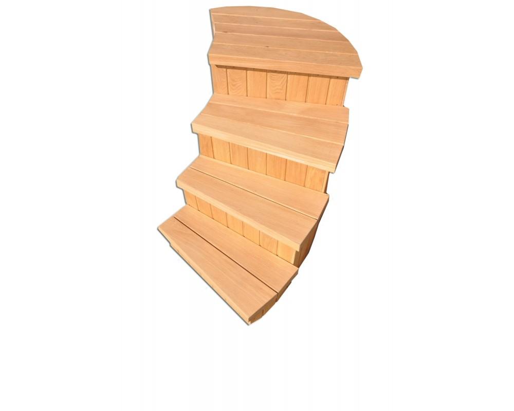 laiptai kubilui