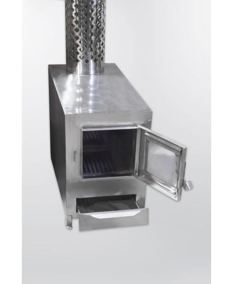 Išorinė aliuminio krosnele kubilui