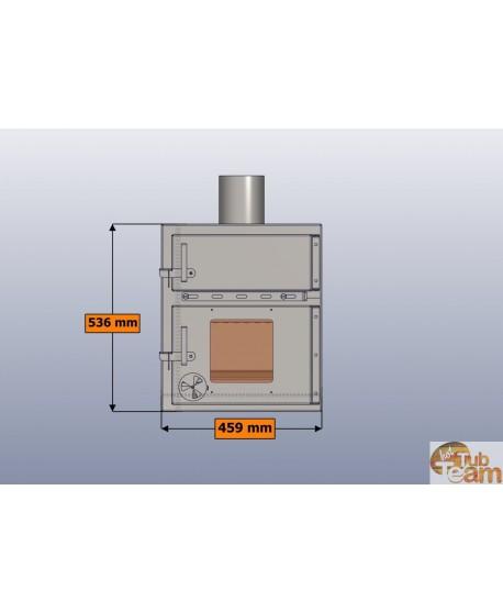 Krosnelė integruojama į kubilus KKI np-01